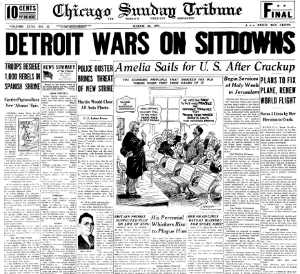 Chicago Daily Tribune January 21, 1937