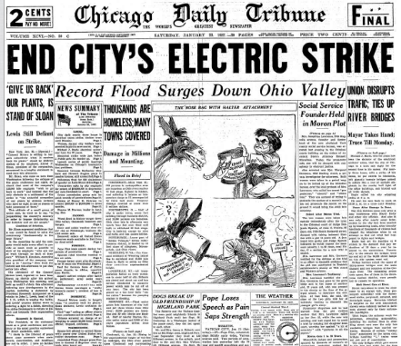 Chicago Daily Tribune January 23, 1937