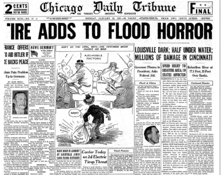 Chicago Daily Tribune  January 25, 1937