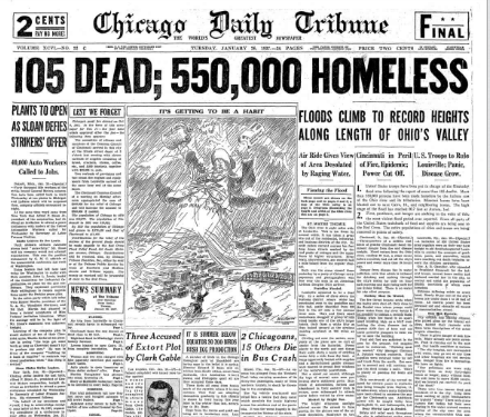 Chicago Daily Tribune January 26, 1937