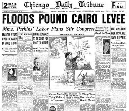 Chicago Daily Tribune January 29, 1937