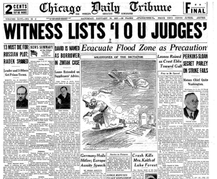 Chicago Daily Tribune January 30, 1937