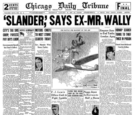 Chicago Daily Tribune Jan 14, 1937