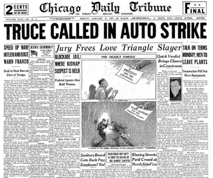 Chicago Daily Tribune Jan 15, 1937