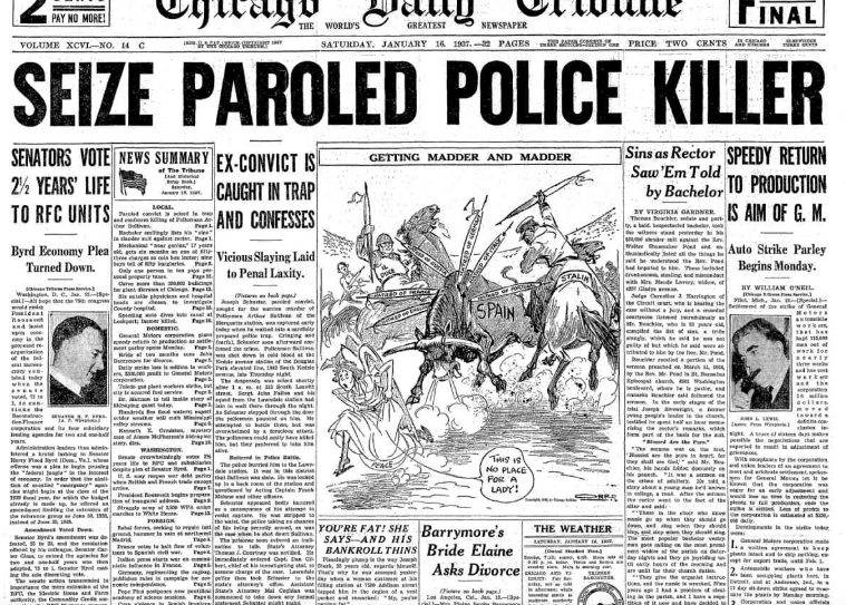 Chicago Daily Tribune January 17, 1937