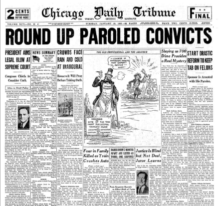 Chicago Daily Tribune January 19, 1937