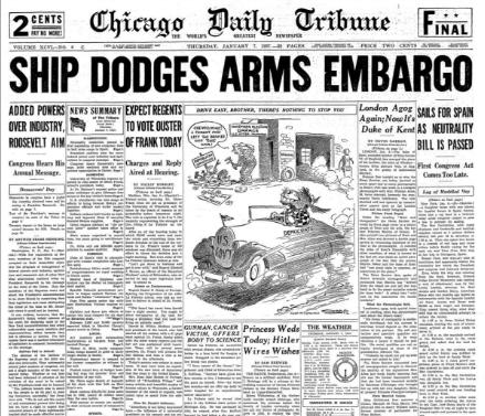Chicago Daily Tribune Jan 7, 1937