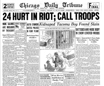 Chicago Daily Tribune January 12, 1937