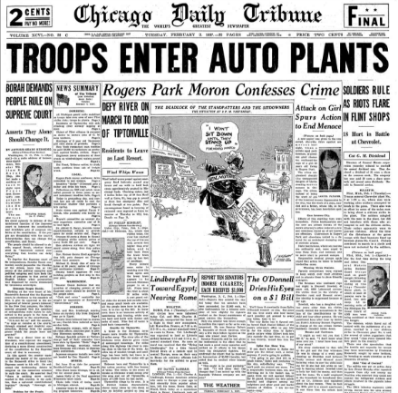 Chicago Daily Tribune February 2, 1937