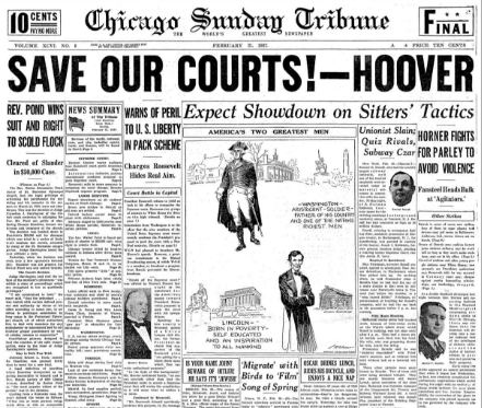 Chicago Suday Tribune February 21, 1937