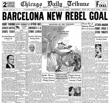 Chicago Daily Tribune February 22, 1937
