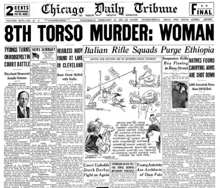 Chicago Daily Tribune February 24, 1937