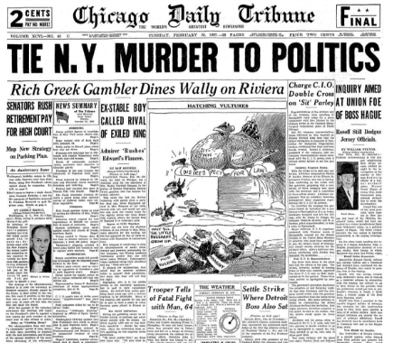 Chicago Daily Tribune February 23, 1937