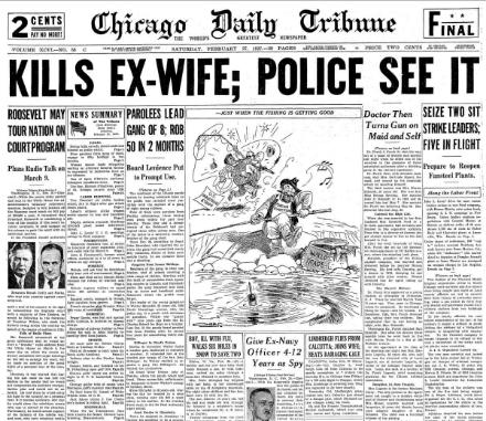 Chicago Daily Tribune February 27, 1937