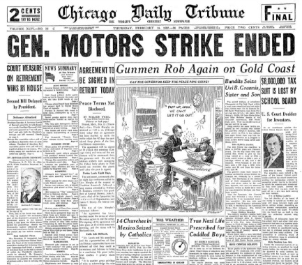 Chicago Daily Tribune February 11, 1937