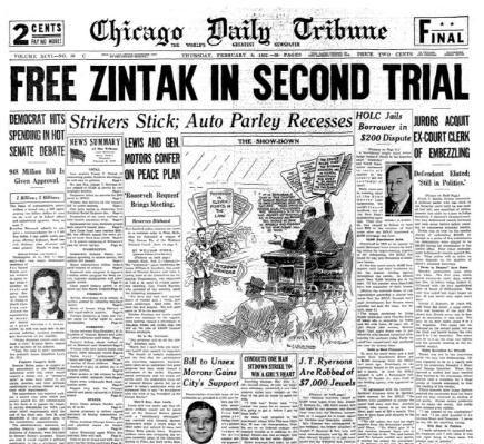 Chicago Daily Tribune February 4, 1937