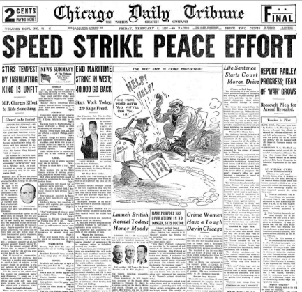 Chicago Daily Tribune February 5, 1937