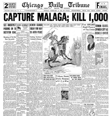 Chicago Daily Tribune February 8, 1937