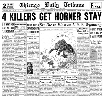 Chicago Daily Tribune February 19, 1937