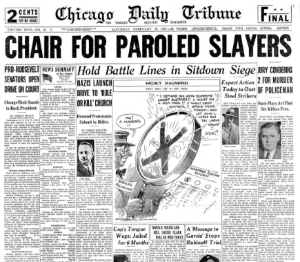 Chicago Daily Tribune February 20, 1937