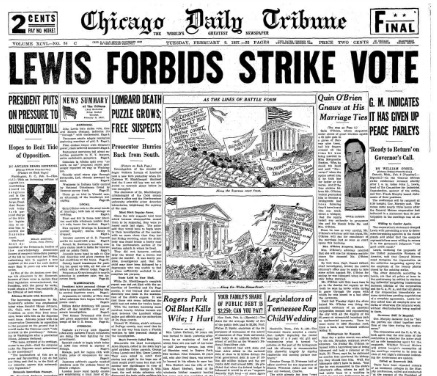 Chicago Daily Tribune February 9, 1937
