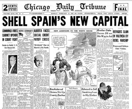 Chicago Daily Tribune February 15, 1937