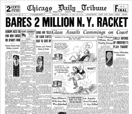 Chicago Daily Tribune February 16, 1937