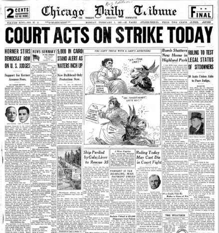 Chicago Daily Tribune February 1, 1937