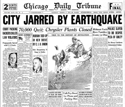 Chicago Daily Tribune March 9, 1937