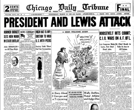 Chicago Daily Tribune March 10, 1937