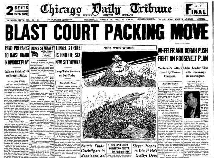 Chicago Daily Tribune March 11, 1937