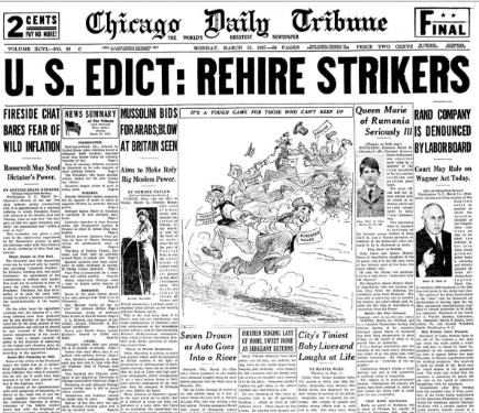 Chicago Daily Tribune March 15, 1937