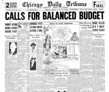 Chicago Daily Tribune March 16, 1937