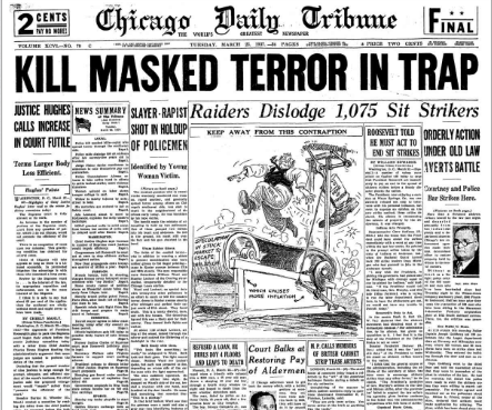 Chicago Daily Tribune March 23, 1937