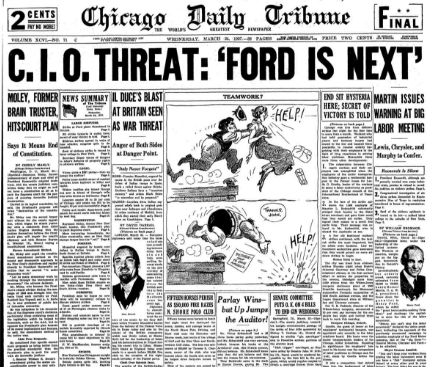 Chicago Daily Tribune March 24, 1937