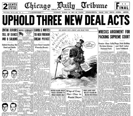 Chicago Daily Tribune March 30, 1937