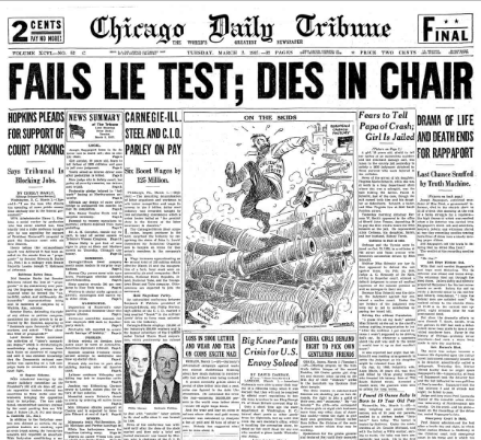 Chicago Daily Tribune March 2, 1937