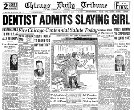 Chicago Daily Tribune March 4, 1937
