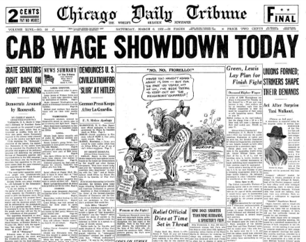 Chicago Daily Tribune March 6, 1937