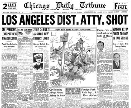 Chicago Daily Tribune March 8, 1937
