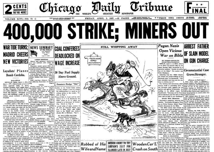 Chicago Daily Tribune April 2, 1937