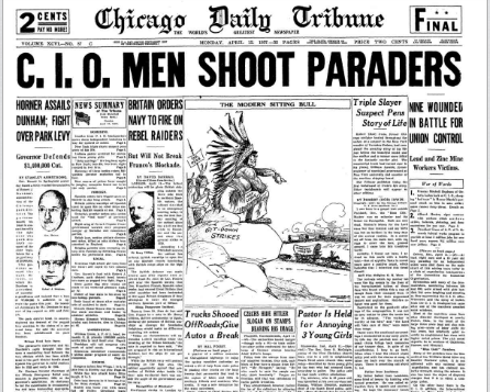 Chicago Daily Tribune April 12, 1937