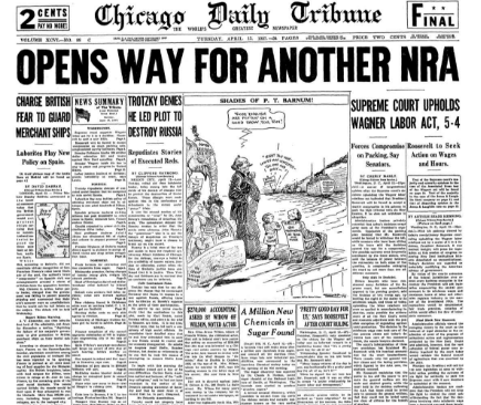 Chicago Daily Tribune April 13, 1937