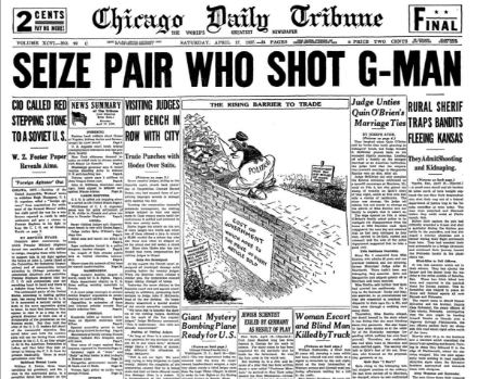 Chicago Daily Tribune April 17, 1937