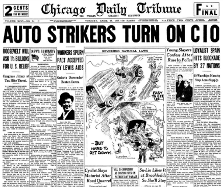 Chicago Daily Tribune April 20, 1937