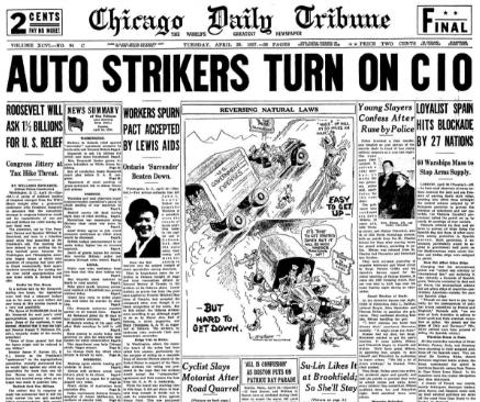 Chicago Daily Tribune April 20, 1937