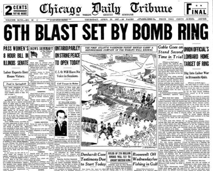 Chicago Daily Tribune April 22, 1937