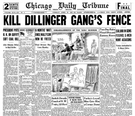 Chicago Daily Tribune April 27, 1937