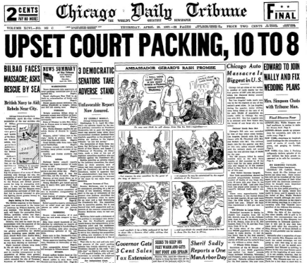 Chicago Daily Tribune April 29,1937