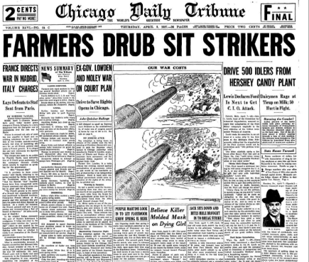 Chicago Daily Tribune April 8, 1937